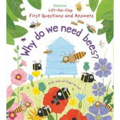 Usborne Lift-the-Flap First Questions and Answers: Why Do We Need Bees?