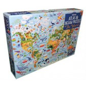 World, The - Atlas & Jigsaw Puzzle