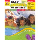 Daily Summer Activities, Between Pre-K and Kindergarten Activity Book; Summer Learning Workbook  Evan-Moor