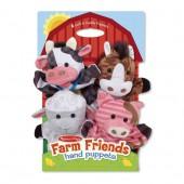Farm Friends Hand Puppets - Melissa and Doug