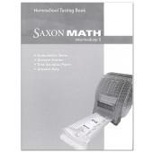 Saxon Math 5 Intermediate Test Book