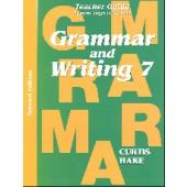 Saxon Grammar & Writing Grade 7 Teacher Packet, 2nd Edition