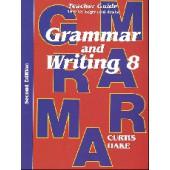 Saxon Grammar & Writing Grade 8 Teacher Packet, 2nd Edition