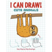 I Can Draw! Cute Animals: Easy Step-by-Step Drawings - Dover