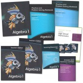Prentice Hall High School Mathematics Algebra 1 Homeschool Bundle (2011 Edition)