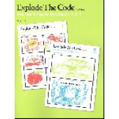 Explode the Code Teacher Guide and Answer Key for Books 1-2  (2nd Edition)