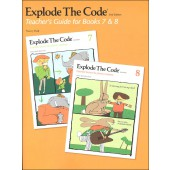Explode the Code Teacher Guide and Answer Key for Books 7-8 (2nd Edition)