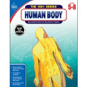 100+ Series: The Human Body Workbook Grades 5-8