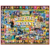 US Presidents Collage - 1000 Piece Jigsaw Puzzle
