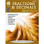 Fractions & Decimals Quick Starts Workbook