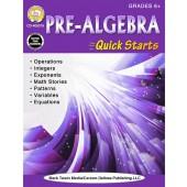 Pre-Algebra Quick Starts Workbook