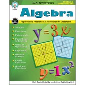 Algebra Math Activity Workbook
