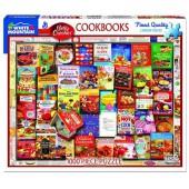 Betty Crocker Cookbooks  - 1000 Piece Jigsaw Puzzle - White Mountain Puzzles