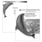 Exploring Creation with Marine Biology, Solutions & Test Book (Apologia) 2nd Edition