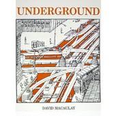 Underground Illustrated Book by David Macaulay