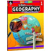 180 Days of Geography for the First Grade - Teacher Created Materials