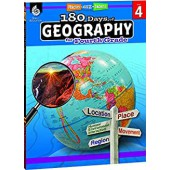 180 Days of Geography for the Fourth Grade - Teacher Created Materials