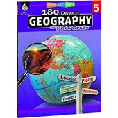 180 Days of Geography for Fifth Grade - Teacher Created Materials