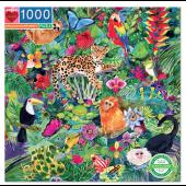 Amazon Rainforest 1000 Piece Puzzle - eeBoo