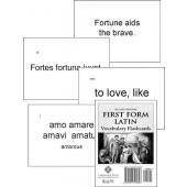 First Form Latin Flashcards Second Edition