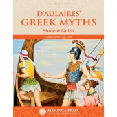 D'Aulaires' Greek Myths Student Guide, Second Edition-Memoria Press
