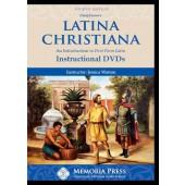 Latina Christiana Instructional DVDs, Fourth Edition - Memoria Press