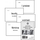 Latina Christiana & Prima Latina Flashcards, Fourth Edition - Memoria Press