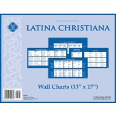 Latina Christiana Wall Charts, Fourth Edition - Memoria Press