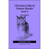 Christian Liberty Nature Reader Book 4 Answer Key Third Edition