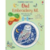 Usborne Owl Embroidery Kit