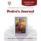 Novel Unit - Pedro's Journal Teacher Guide Grades 3-5