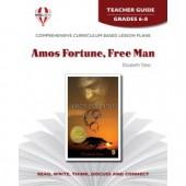 Novel Unit - Amos Fortune, Free Man Teacher Guide Grades 6-8