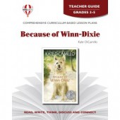 Novel Unit - Because of Winn-Dixie Grades 3-5