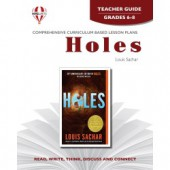 Novel Unit - Holes Teacher Guide Grades 6-8