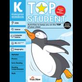 Top Student, Grade K - Activity Book, Evan-Moor