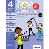 Top Student, Grade 4 - Activity Book Evan-Moor