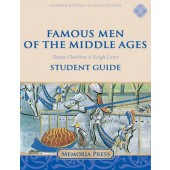 Famous Men of the Middle Ages Student Guide-Charter/Public Edition Grades 5-8