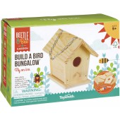 Build A Bird Bungalow, Backyard Birdhouse Kit with Fsc Certified Wood