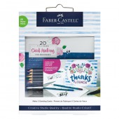 20 minute studio - Card Making FOR BEGINNERS Faber-Castell