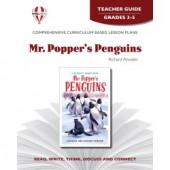 Novel Unit - Mr. Popper's Penguins Teacher Guide Grades 3-5