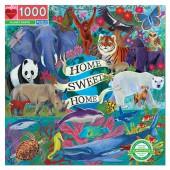 eeBoo Planet Earth 1000 Piece Puzzle