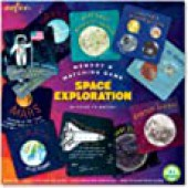 eeBoo Space Exploration Memory Matching Game for Kids