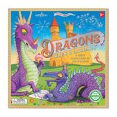 Dragons Slips and Ladders Board Game -  eeBoo