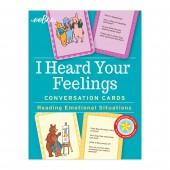 I Heard Your Feelings Conversation Cards - eeBoo