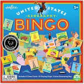 eeBoo United States Geography Bingo Game