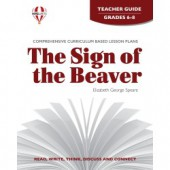 Novel Units - The Sign of the Beaver Teacher Guide Grades 6-8