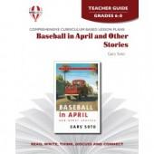 Novel Unit - Baseball in April Teacher Guide Grades 6-8