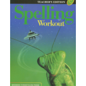 MCP Spelling Workout C, Grade 3 TE (2001/2002 Ed)