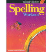 MCP Spelling Workout F, Grade 6 TE (2001/2002)