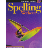 MCP Spelling Workout H, Grade 8 TE (2001/2002)